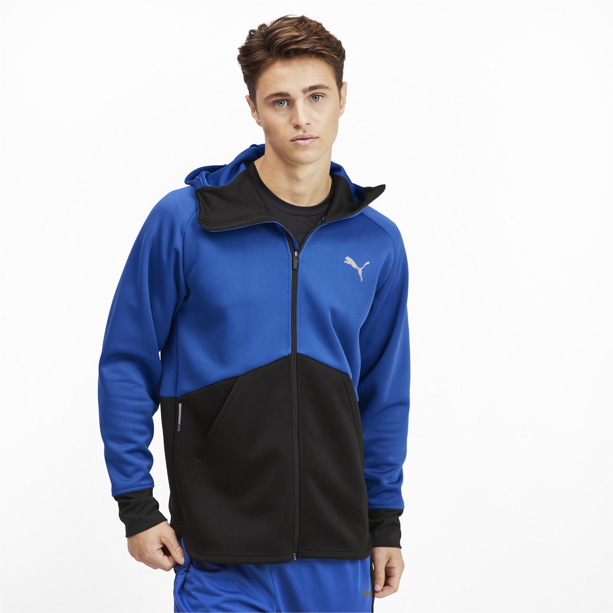 PUMA-Power-BND-Men-039-s-Jacket-Men-Knitted-Jacket-Training thumbnail 4