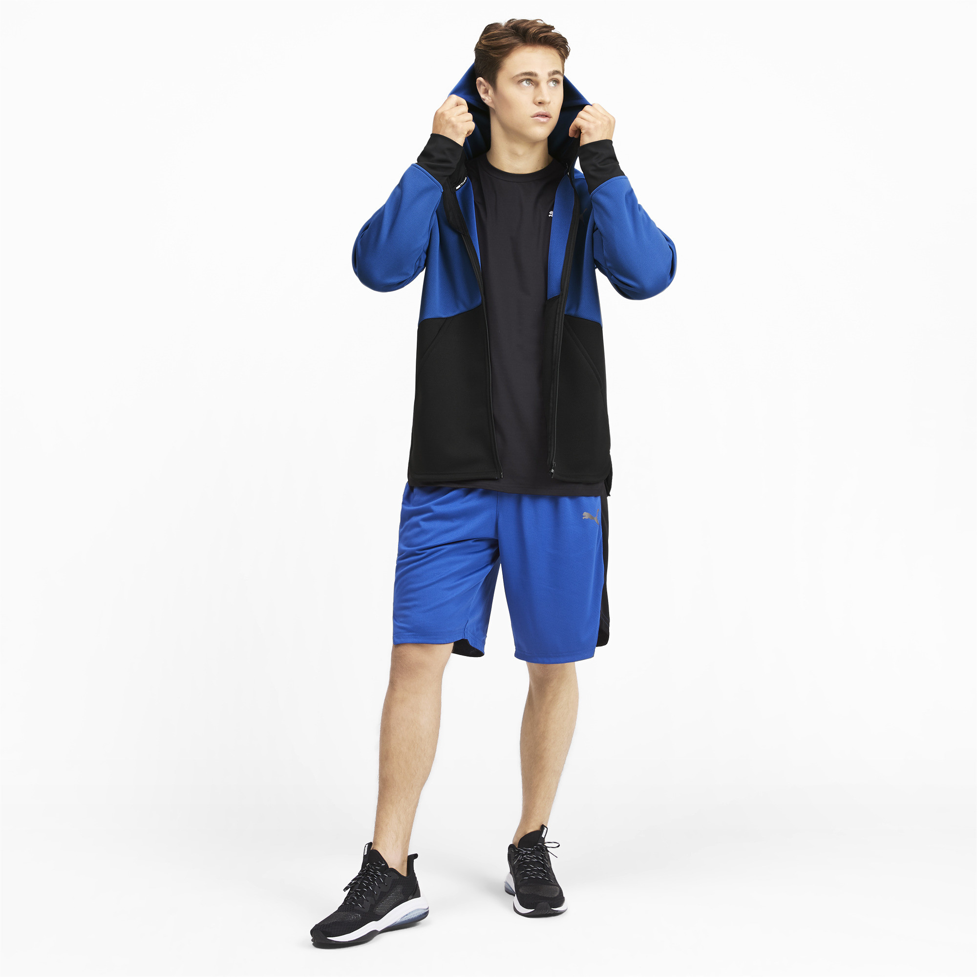 PUMA-Power-BND-Men-039-s-Jacket-Men-Knitted-Jacket-Training thumbnail 6