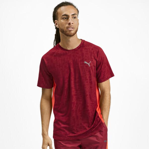 Power Vent T-shirt voor mannen, Rhubarb, large
