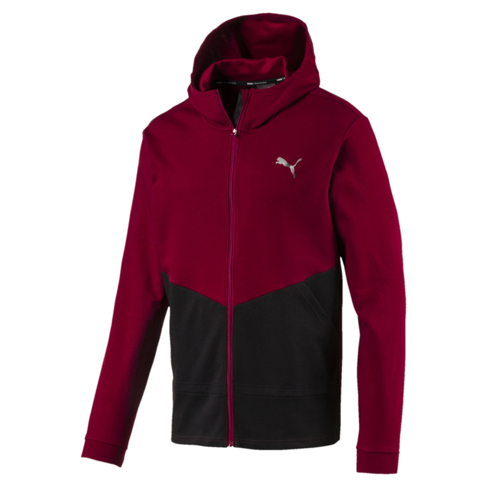 Image Puma Reactive FZ Full Zip Men's Training Jacket #1