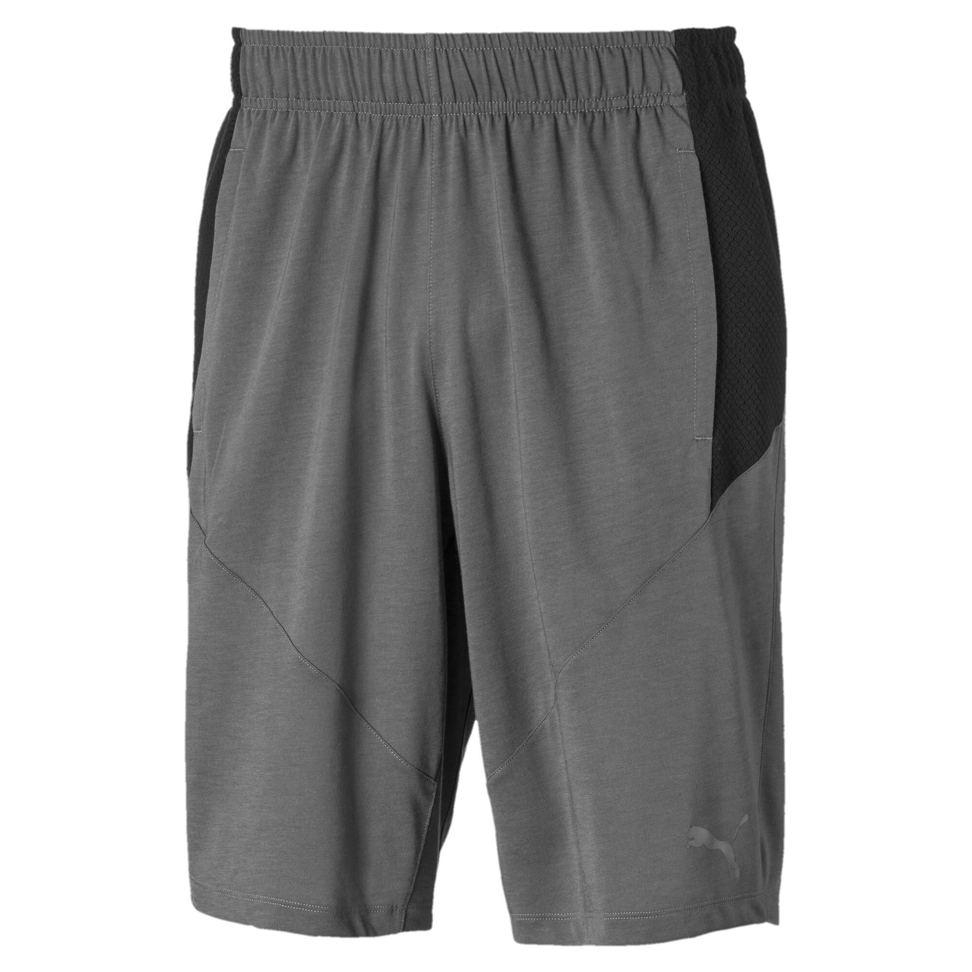 PUMA-Reactive-Drirelease-Men-039-s-Shorts-Men-Knitted-Shorts-Training thumbnail 2