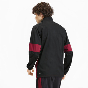 Thumbnail 3 of PUMA Blaster Men's Jacket, Puma Black-Rhubarb, medium
