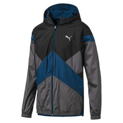 Reactive Reversible Hooded Men's Jacket