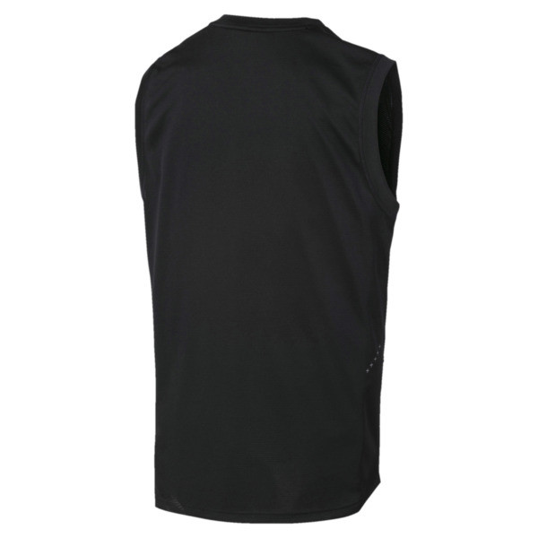IGNITE Men's Running Tank Top, Puma Black, large