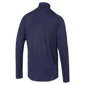 Thumbnail 5 of Top IGNITE Half Zip Running pour homme, Peacoat, medium