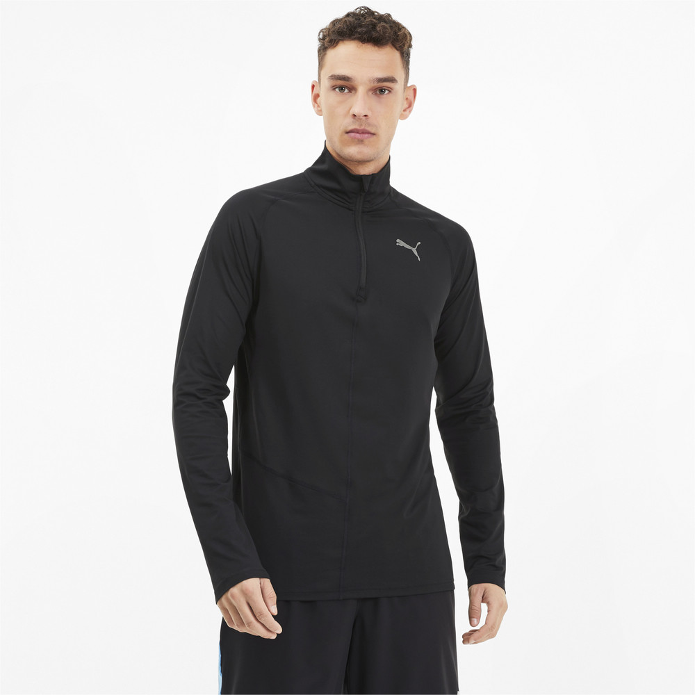 Image Puma IGNITE Half Zip Men's Running Top #1
