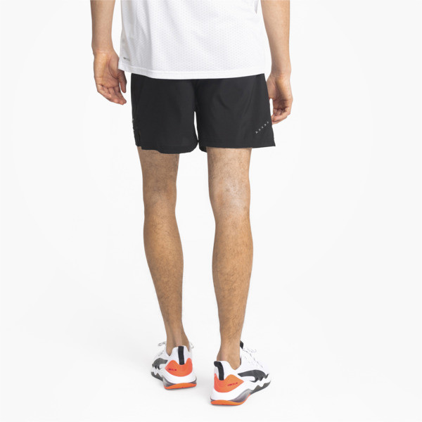 IGNITE Herren Running Gewebte Shorts, Puma Black, large