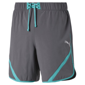 Miniatura 1 de Shorts Get Fast para hombre, CASTLEROCK-Blue Turquoise, mediano