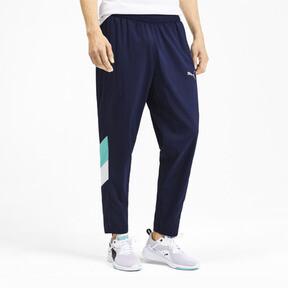 Miniatura 2 de Pantalones Reactive plegables para hombre, Peacoat-Turquoise-White, mediano