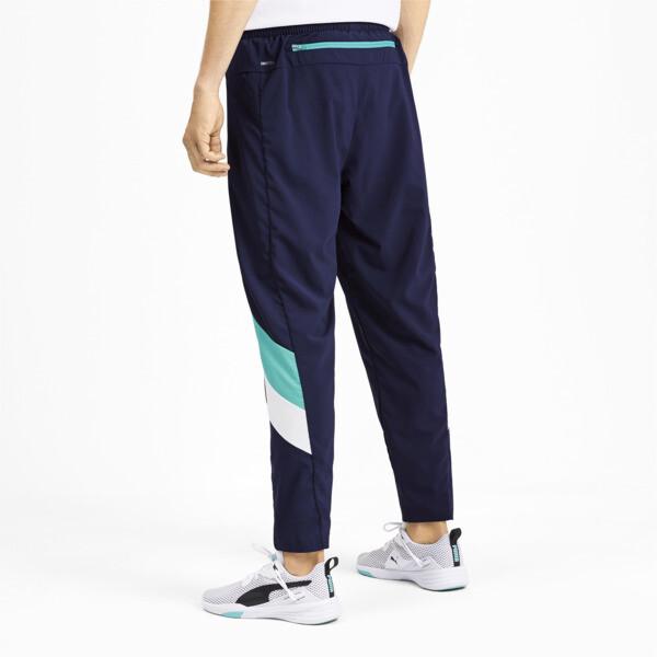 Pantalones Reactive plegables para hombre, Peacoat-Turquoise-White, grande