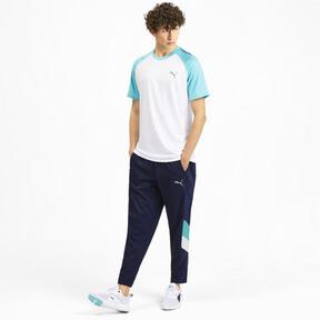 Miniatura 4 de Pantalones Reactive plegables para hombre, Peacoat-Turquoise-White, mediano