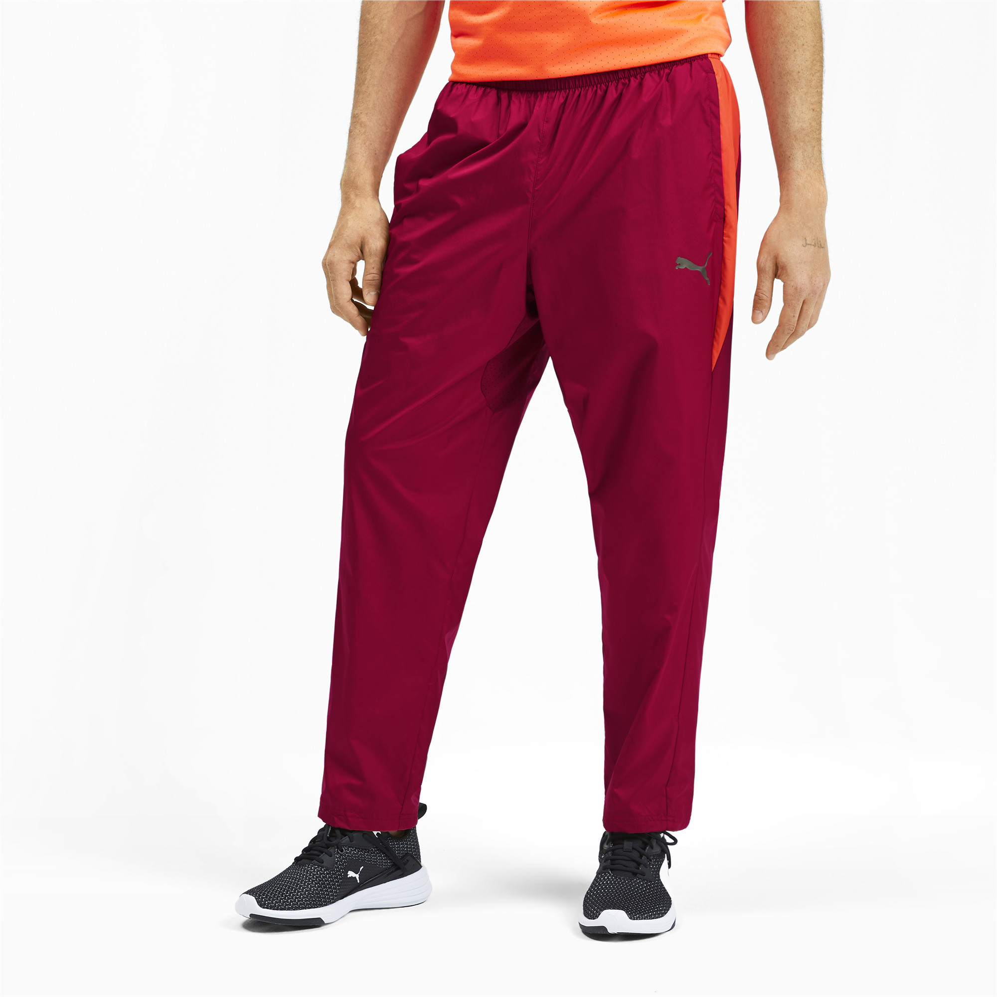 PUMA-Reactive-Men-039-s-Woven-Pants-Men-Woven-Pants-Training miniatura 9