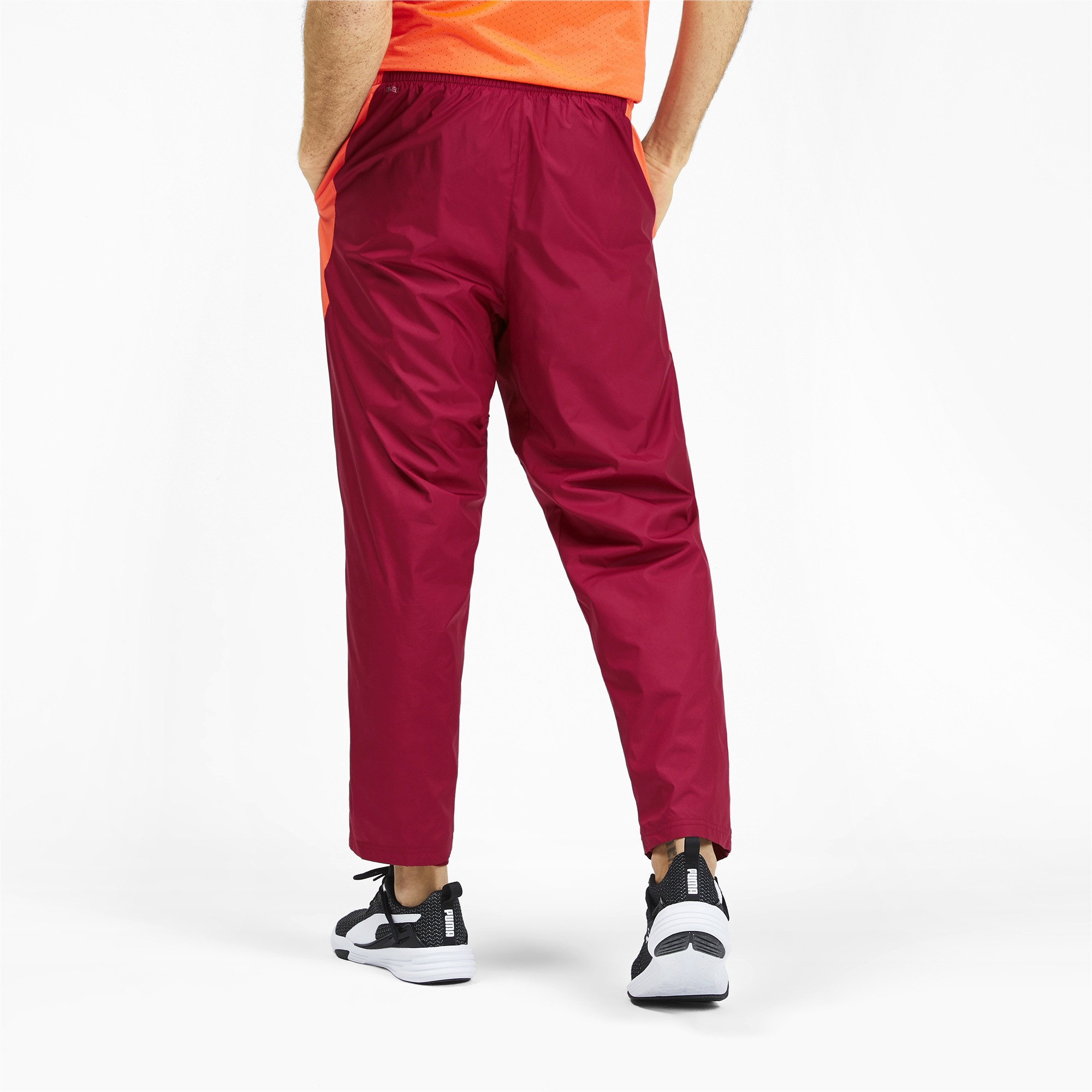 PUMA-Reactive-Men-039-s-Woven-Pants-Men-Woven-Pants-Training miniatura 10