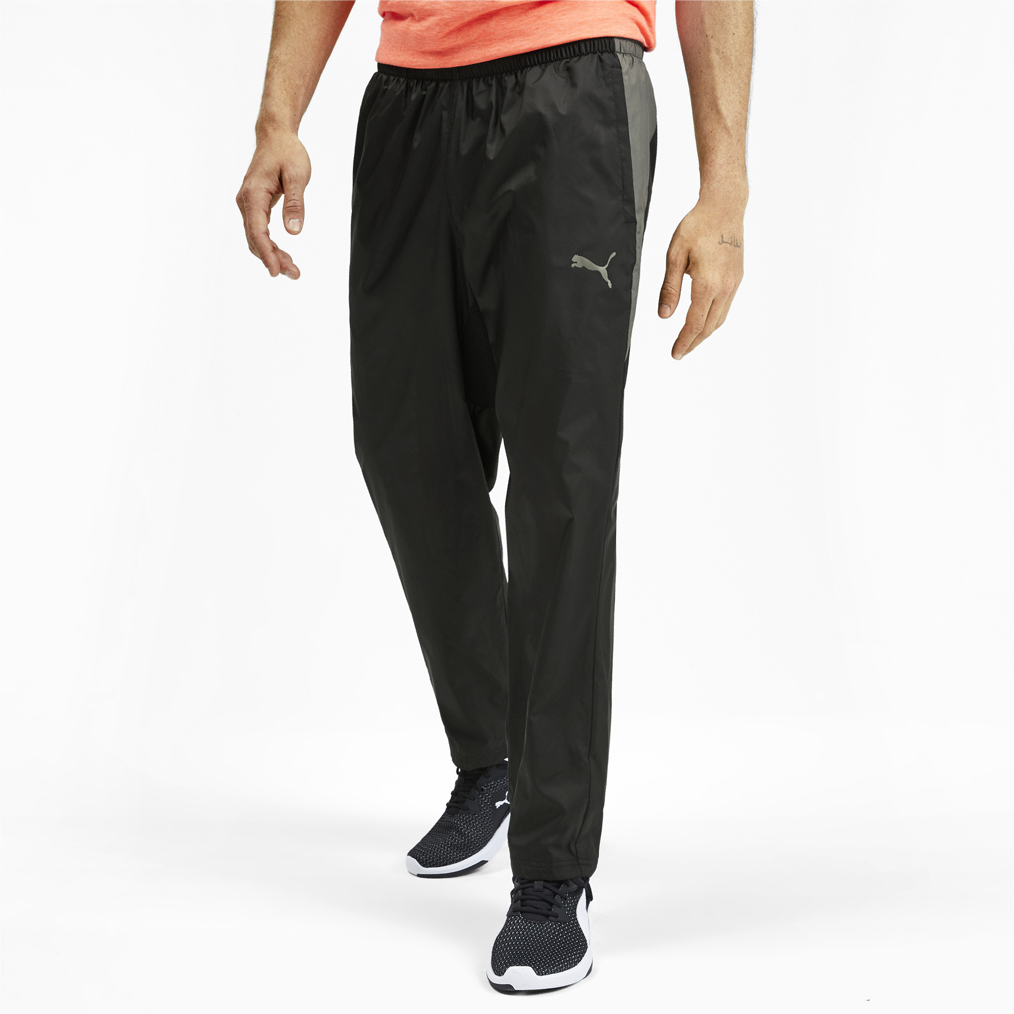 PUMA-Reactive-Men-039-s-Woven-Pants-Men-Woven-Pants-Training miniatura 4