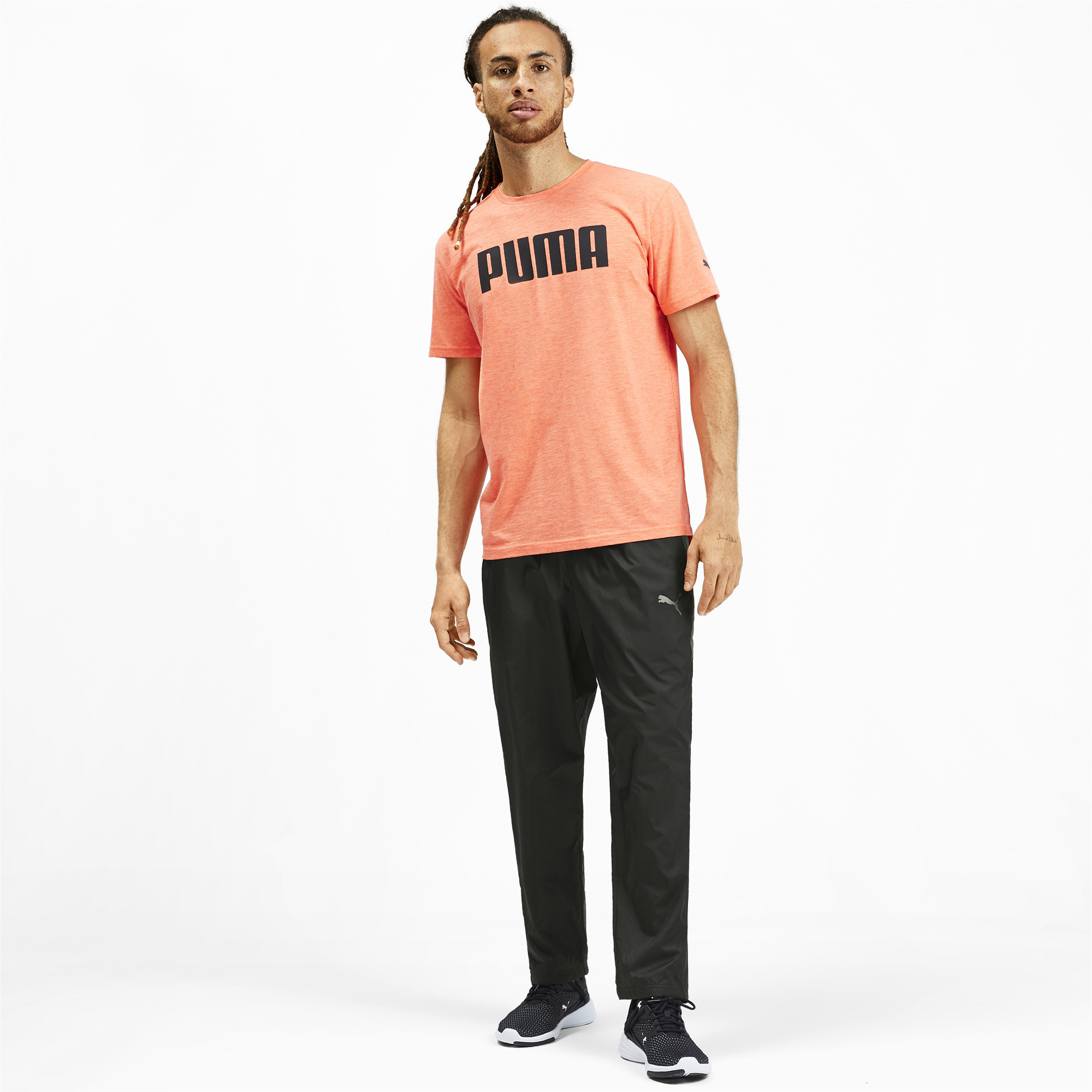 PUMA-Reactive-Men-039-s-Woven-Pants-Men-Woven-Pants-Training miniatura 6