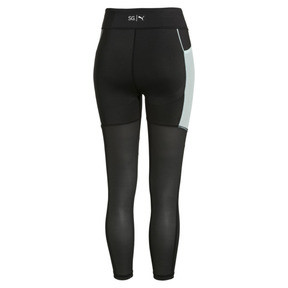 Thumbnail 5 of PUMA x SELENA GOMEZ Women's Leggings, Puma Black-Fair Aqua, medium