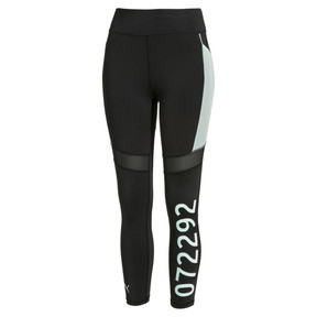 Thumbnail 4 of PUMA x SELENA GOMEZ Women's Leggings, Puma Black-Fair Aqua, medium