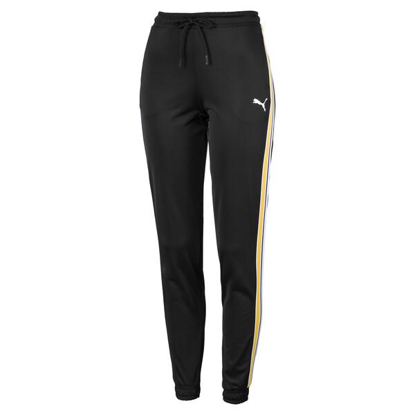 Poly Cuffed Women's Track Pants, Puma Black, large