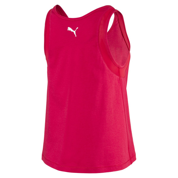 Loose Women's Tank Top, Lipstick Red, large