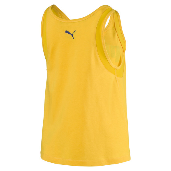 Loose Women's Tank Top, Spectra Yellow, large