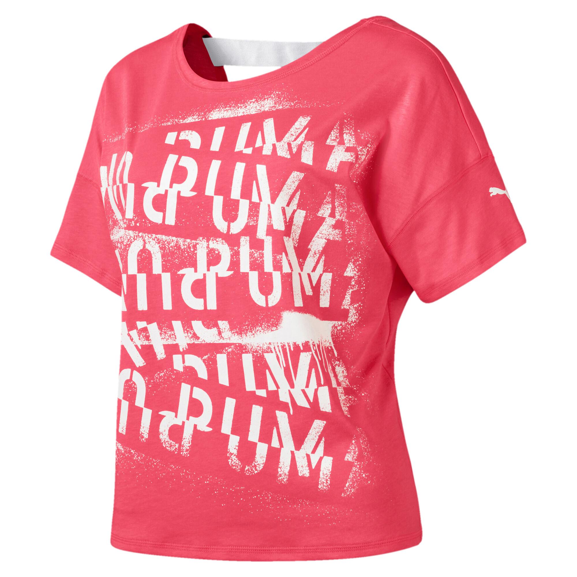 プーマ フィール イット SS ウィメンズ トレーニング Tシャツ 半袖 ウィメンズ Pink Alert