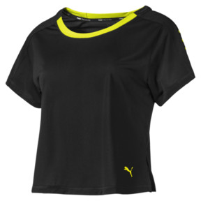 BE BOLD ロゴグラフィック SS ウィメンズ トレーニング Tシャツ (半袖)