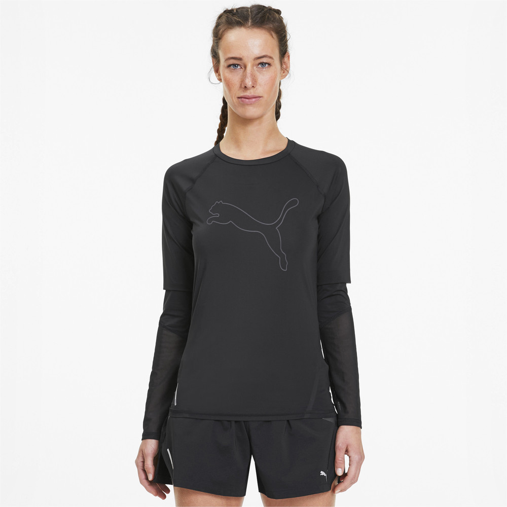 Изображение Puma Футболка Runner ID Long Sleeve #1