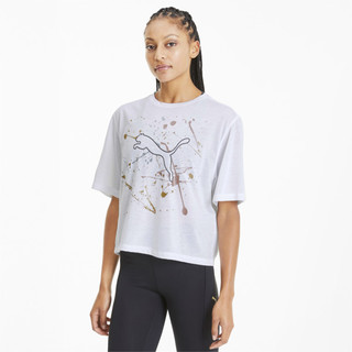 Görüntü Puma Metal Splash Desenli Antrenman Kadın T-Shirt