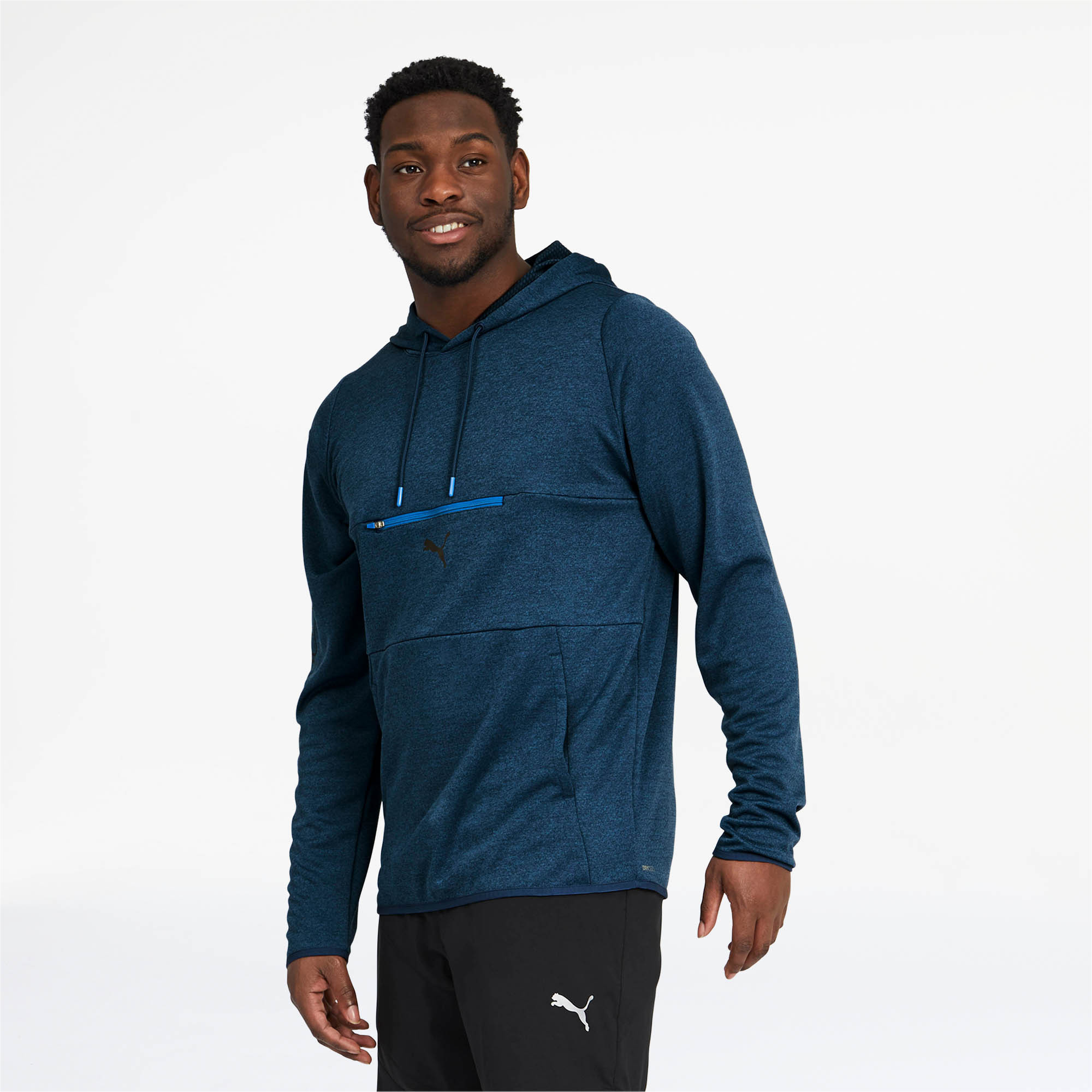 PUMA-Men-039-s-Power-Knit-Hoodie thumbnail 4