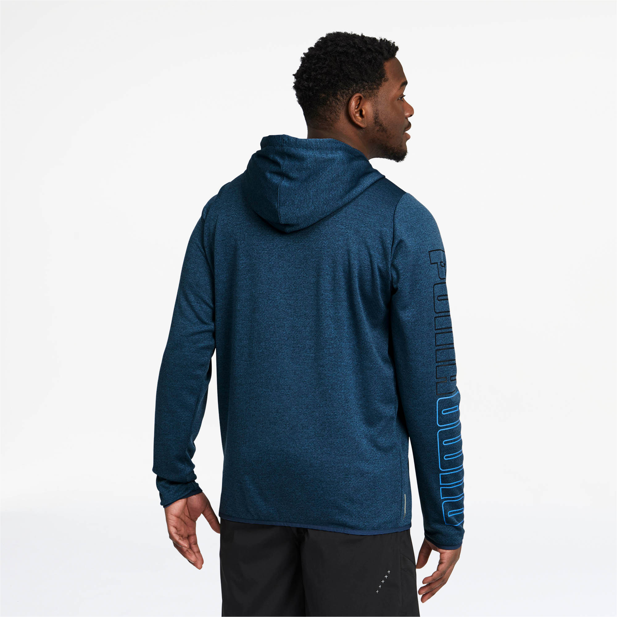 PUMA-Men-039-s-Power-Knit-Hoodie thumbnail 5
