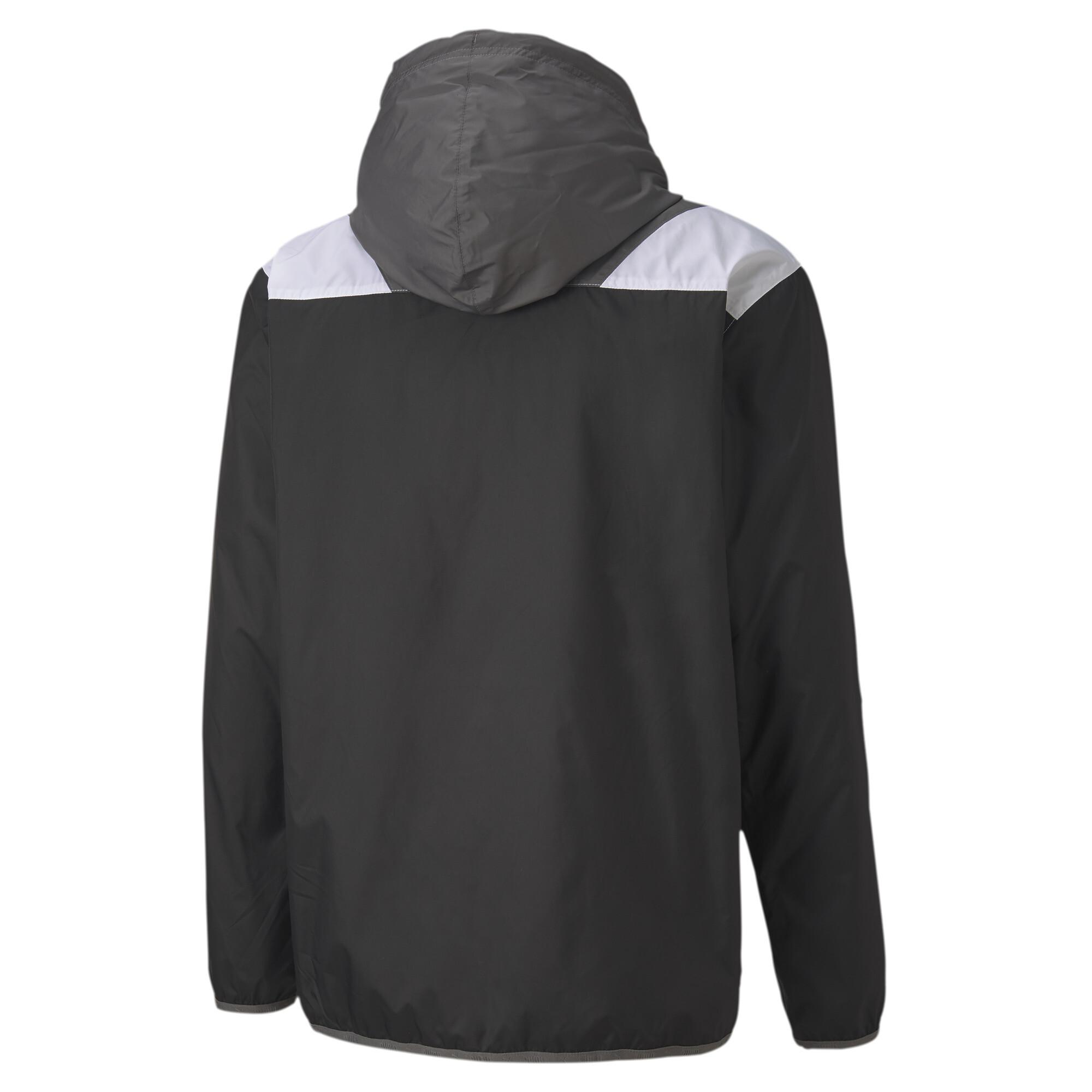 PUMA-Men-039-s-Reactive-Woven-Training-Jacket thumbnail 3