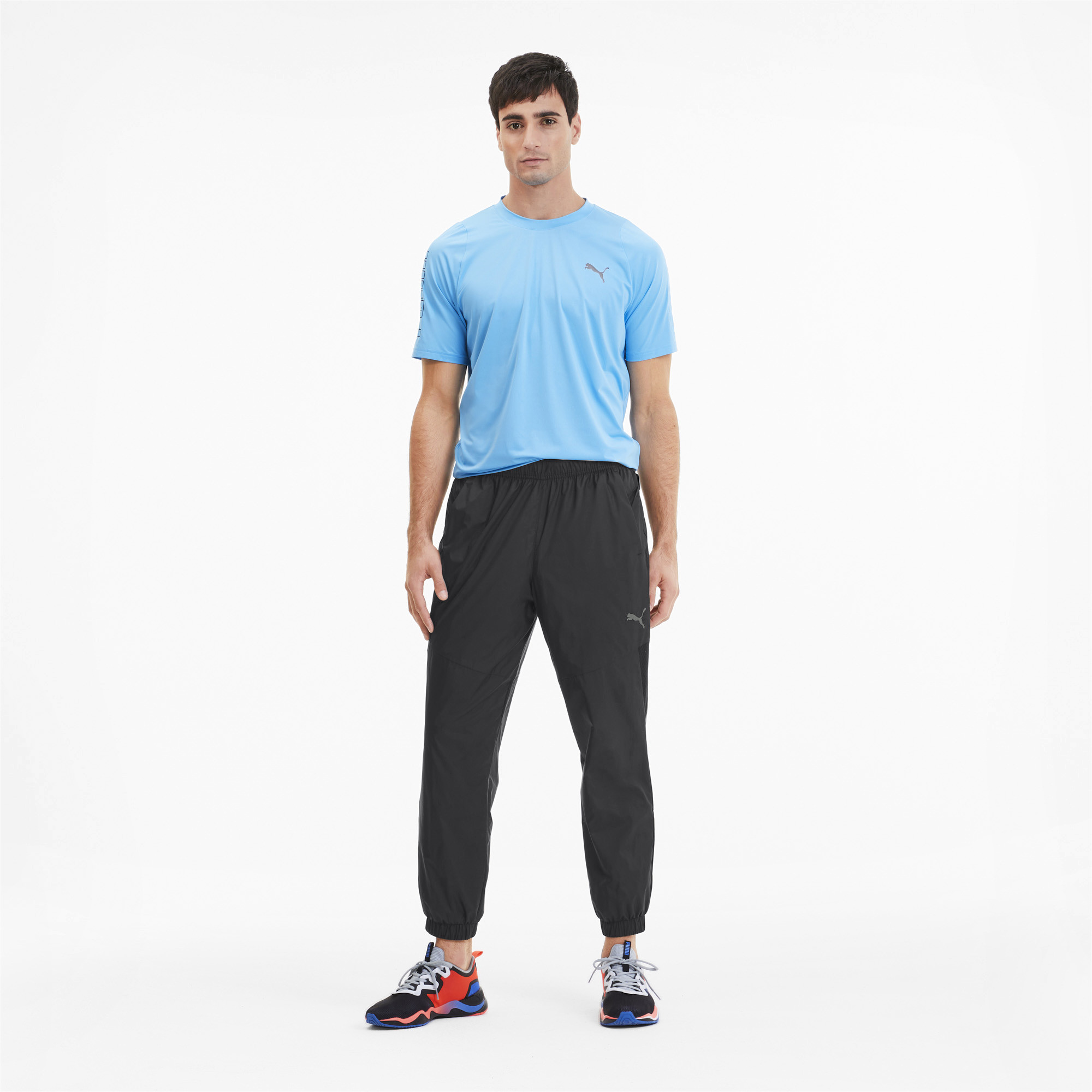 PUMA-Reactive-Men-039-s-Woven-Training-Pants-Men-Woven-Pants-Training thumbnail 6
