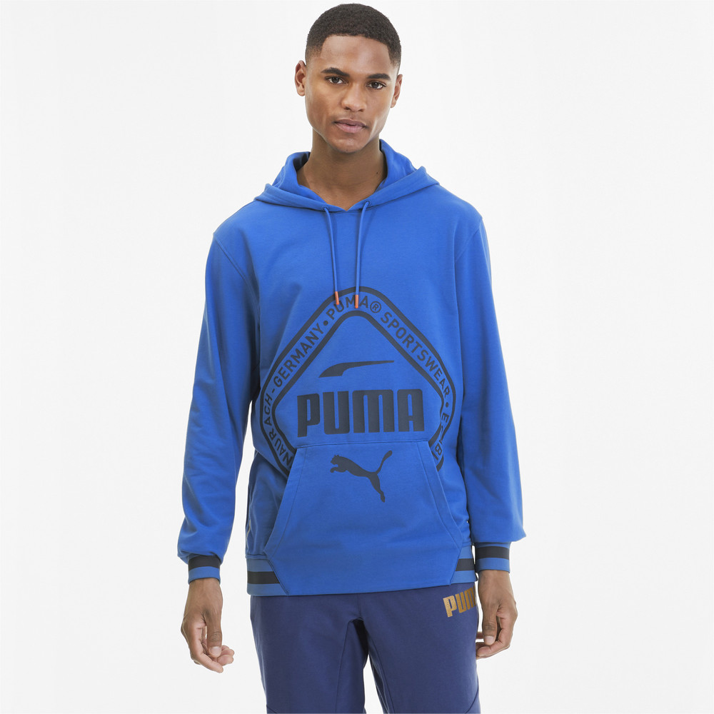 Image PUMA Collective Knitted Men's Warm-Up Hoodie #1
