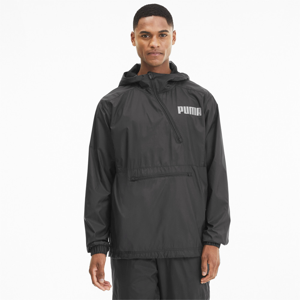 Image PUMA Collective Half Zip Woven Men's Training Jacket #1