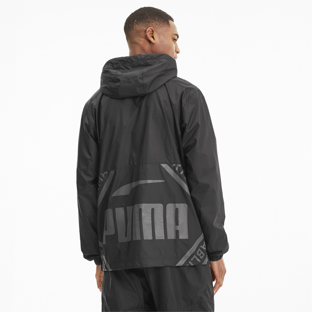 Image PUMA Collective Half Zip Woven Men's Training Jacket #2