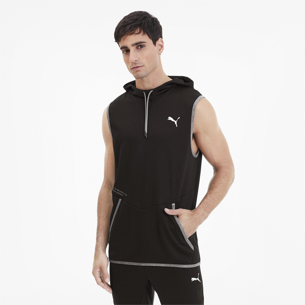 Image PUMA Reactive Sleeveless Men's Training Hoodie #1