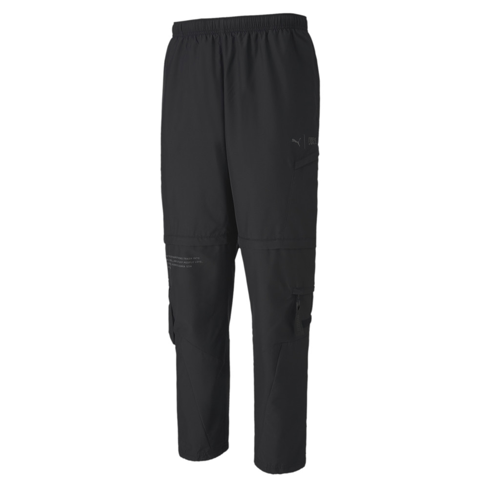 Image PUMA PUMA x FIRST MILE 2-in-1 Woven Men's Training Pants #1