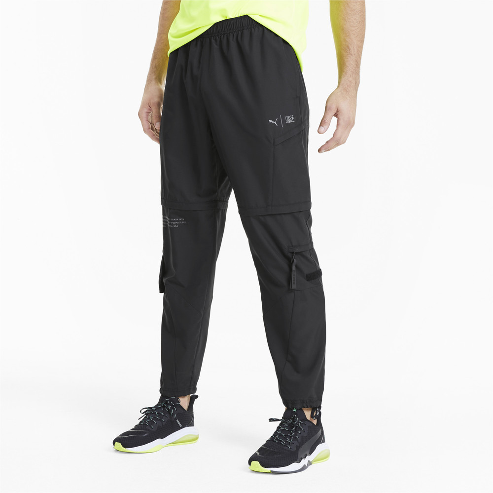 Image PUMA PUMA x FIRST MILE 2-in-1 Woven Men's Training Pants #2