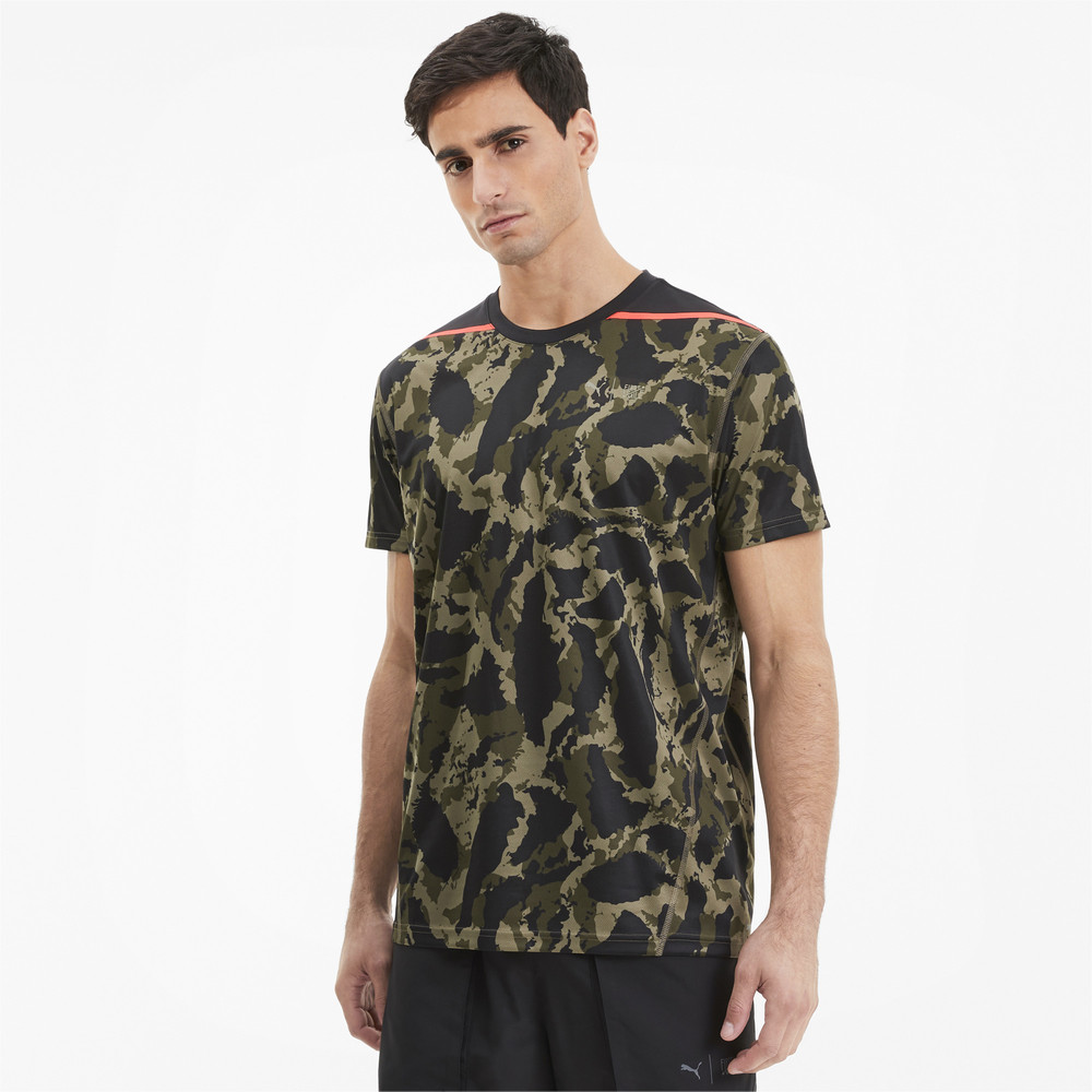 Image Puma PUMA x FIRST MILE Camo Men's Training Tee #1