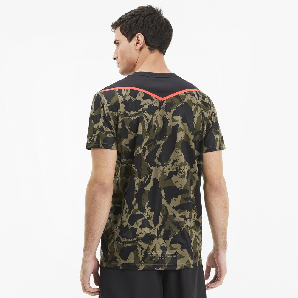 Image Puma PUMA x FIRST MILE Camo Men's Training Tee #2