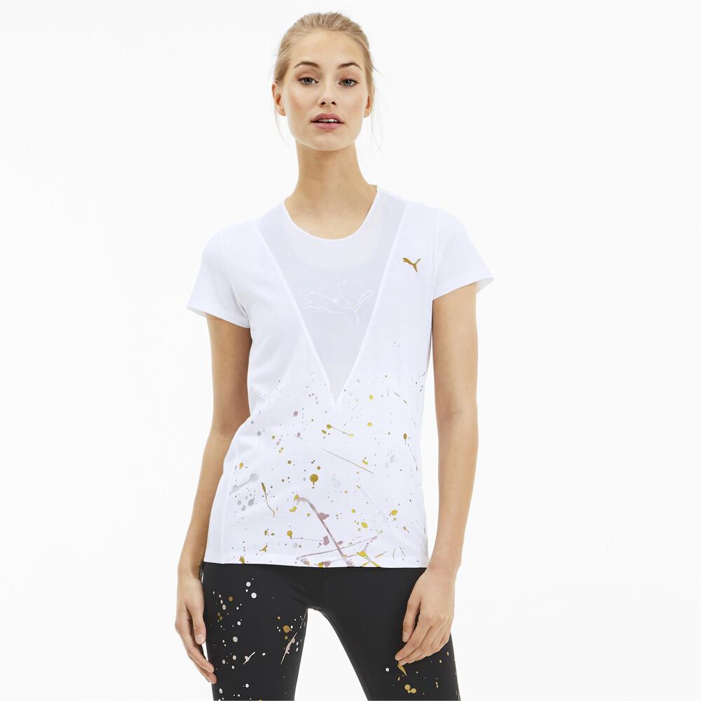 Görüntü Puma Metal Splash Antrenman Kadın T-Shirt #1