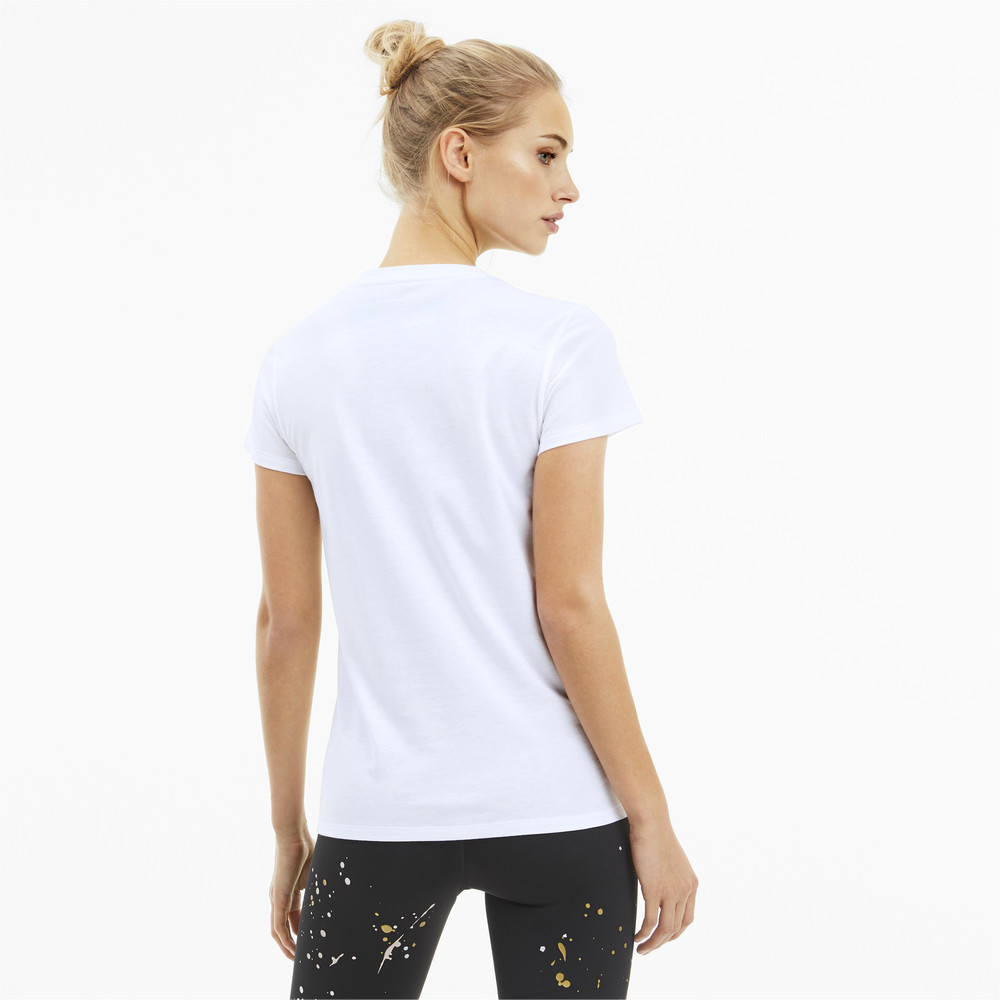 Image Puma Metal Splash Deep Women's Training Tee #2