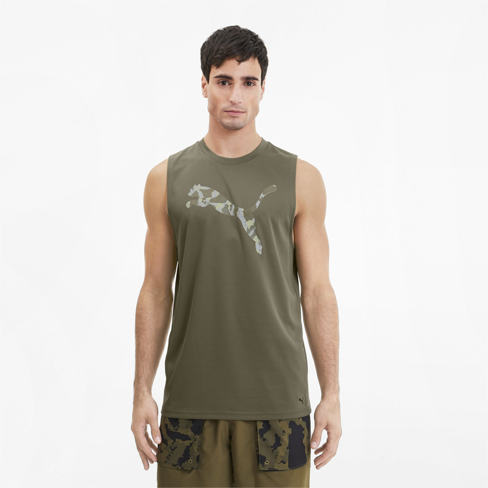 Image PUMA PUMA x FIRST MILE Sleeveless Men's Training Tee #1