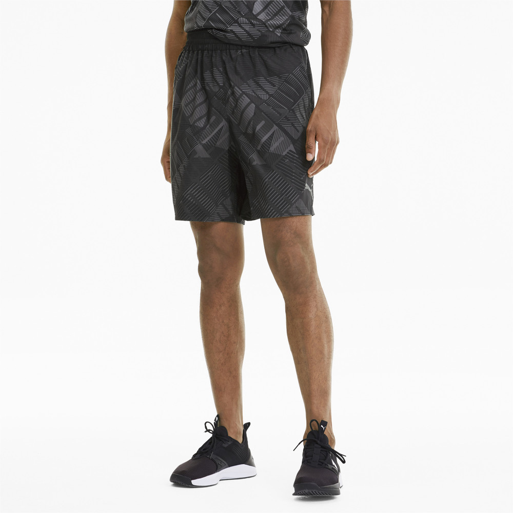 Image Puma All-Over Print Woven Men's Training Shorts #1