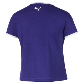 Thumbnail 5 of Performance Retro Women's Tee, Deep Wisteria, medium