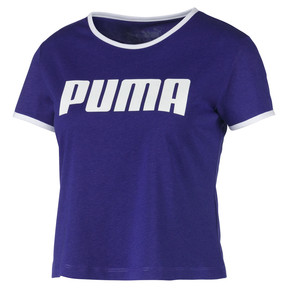 Thumbnail 4 of Performance Retro Damen T-Shirt, Deep Wisteria, medium