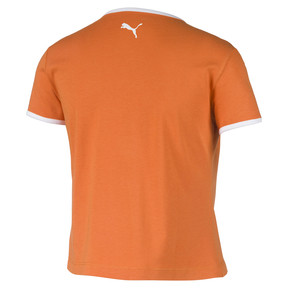 Thumbnail 5 of Performance Retro Women's Tee, Burnt Orange, medium