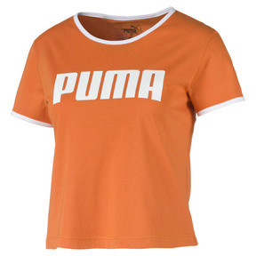Thumbnail 4 of Performance Retro Women's Tee, Burnt Orange, medium