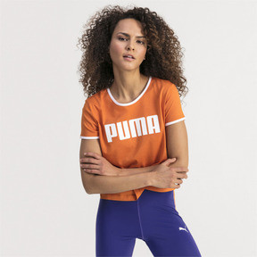 Thumbnail 1 of Performance Retro Women's Tee, Burnt Orange, medium