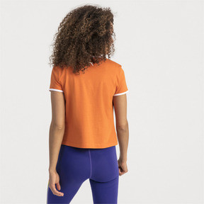 Thumbnail 2 of Performance Retro Women's Tee, Burnt Orange, medium